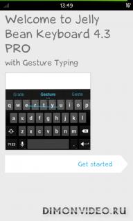 Jelly Bean Keyboard 4.3 PRO