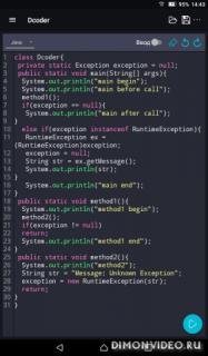 Dcoder, Mobile Compiler IDE