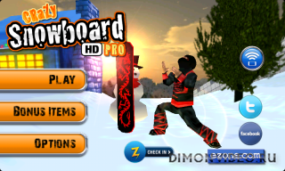 Crazy Snowboard HD