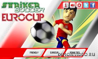 Striker Soccer Eurocup 2012