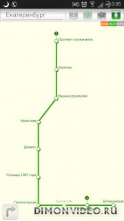 Карта ★ Метро