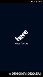HERE WeGo - Оффлайн карты