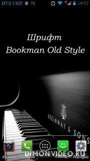 Bookman Old Style Italic - Android