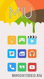 Miu - MIUI 8 Style Icon Pack