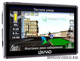 Lexand STR-5350 HD: тонкий навигатор с дисплеем «высокой четкости»