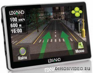Lexand ST-5650 Pro HD: GPS-навигатор с GSM-модулем и WVGA-экраном