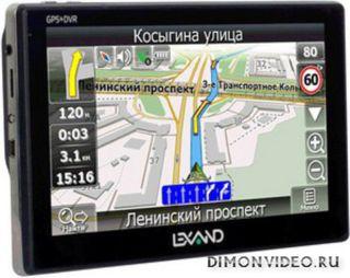Автомобильный гаджет «два в одном»: регистратор и 7-дюймовый навигатор Lexand STR-7100 HDR