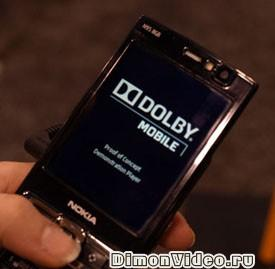Dolby звук на Nokia N95 8GB