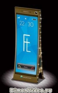 Luxury - телефон в виде Эйфелевой башни