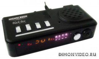 Highscreen Black Box Radar-HD: флагманский регистратор с GPS и радар-детектором
