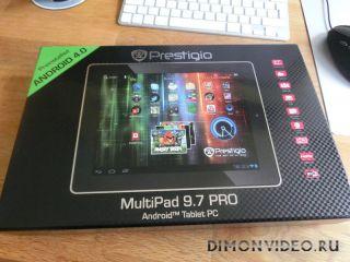 Планшетные компьютеры топ-класса с дисплеями от iPad: Prestigio MultiPad 9.7 Pro и MultiPad 9.7 Ultra
