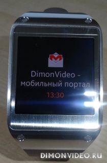 Часы Samsung Galaxy Gear - обзор