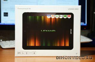 Lexand A802: 8-дюймовый планшет с металлическим корпусом и процессором Huawei