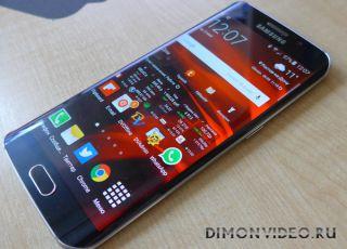 Samsung Galaxy S6 EDGE - небольшой обзор