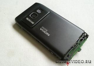 Ремонт крепления нижней панели Nokia N8
