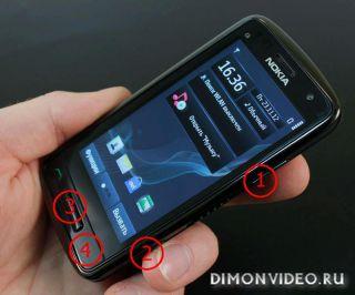 Хард ресет для Nokia C6-01