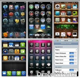 Kaк нacтpoить внeшний вид  iPhone