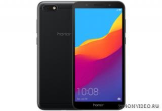 Honor 7A 2/16 Black