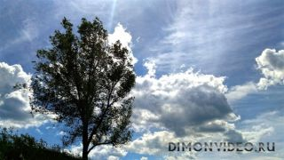 Взрыв облаков.