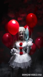 Girl clown 1080x1920