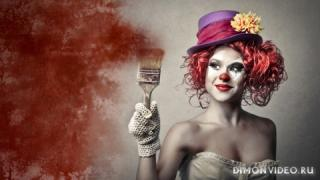 Clown girl 1920x1080