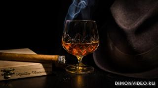 alkogol-konyak-bokal-sigara