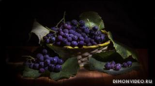 vinograd-listia-fon