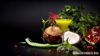aloe-zelen-kokos-klubnika-granat