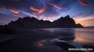 gory-nebo-oblaka-vecher-voda-pliazh