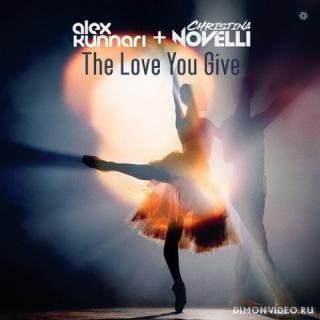 Alex Kunnari & Christina Novelli - The Love You Give (BUMA Extended Remix)