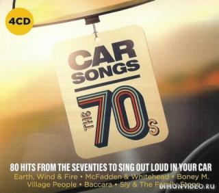 Various Artists - Car Songs The 70s CD4