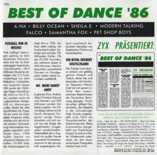 VA - Best Of Dance 01-03 (1985-1987)