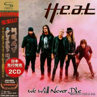 H.e.a.t - We Will Never Die (Compilation) (2CD)