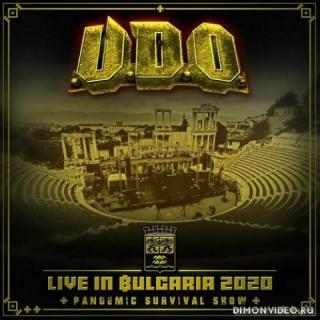 U.D.O. - Live In Bulgaria 2020 - Pandemic Survival Show (2CD) (2021)