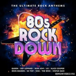 VA - 80s Rock Down: The Ultimate Rock Anthems (3 CD) (2021)