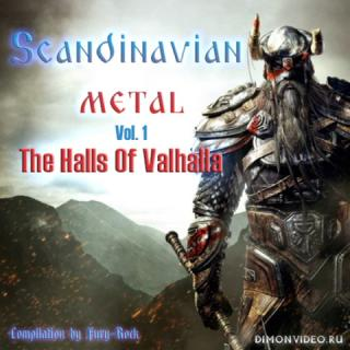 Various Artists - Scandinavian Metal: The Halls Of Valhalla Vol.1 (4CD) (2018)