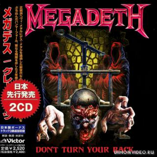 Megadeth - Don't Turn Your Back... (Compilation 2CD) (Japanese Edition) (Bootleg) (2018)