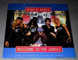 Guns N' Roses - Welcome To The Jungle (Ck Quantized Edit) Clean Ck Cut