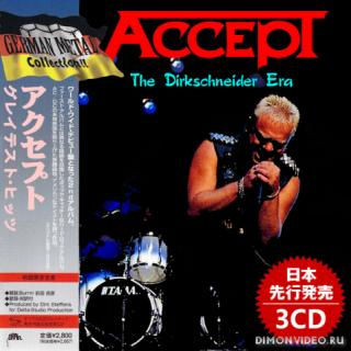 Accept - The Dirkschneider Era (Japanese Edition) (Compilation) (3CD) (2019)