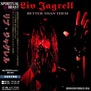 Liv Jagrell - (Sister Sin) Better Than Them (Compilation) (Japanese Edition) (2019)