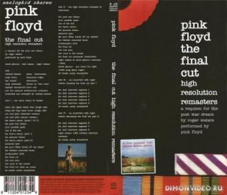 PINK FLOYD - THE FINAL CUT (3CD HI-RES REMASTERS) (2019)