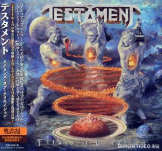 Testament - Titans of Creation (Japanese Edition) (2CD)  (2020)