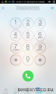 IOS 8 Caller Screen Dialer
