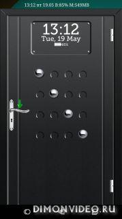 Дверь Блокировка экрана