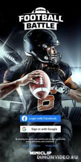 Football Battle - Touchdown!
