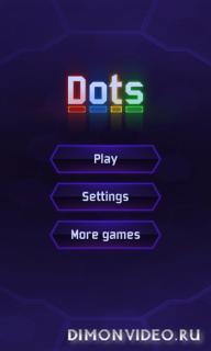 Flow Dots - соеденить Точки 3D