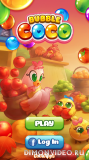 Bubble CoCo: Color Match Bubble Shooter