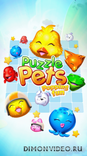 Puzzle Pets - Взрывное веселье!