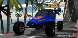 Racing stunts by car