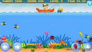 Fishing Work - аркадный симулятор рыбалки